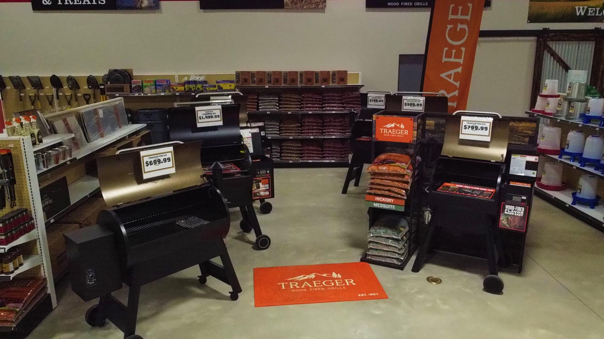 Traeger Grills at the Norman location